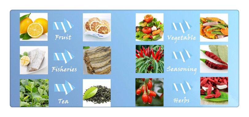 Microwave Vegetable Drying Machine Vegetable Dehydrator
